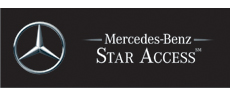 Mercedes logo linking to their site